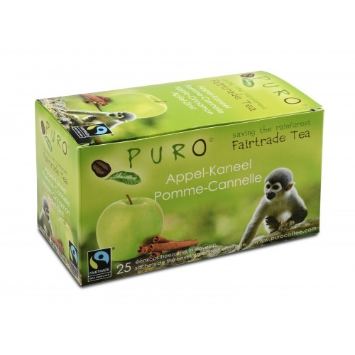 Puro Fairtrade Tee - Apfel Zimt
