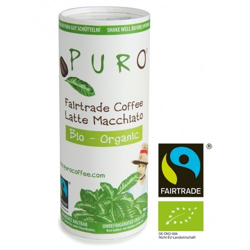 Puro Fairtrade Bio - Latte Macchiato 12 x 230 ml